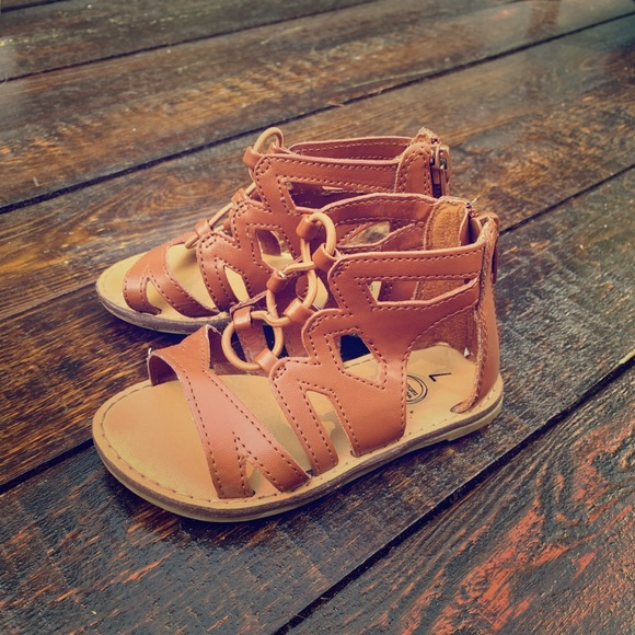 Cleopatra Style Sandals Size 7 Toddlers